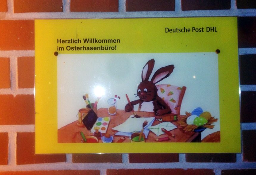 Post Adresse Osterhase
